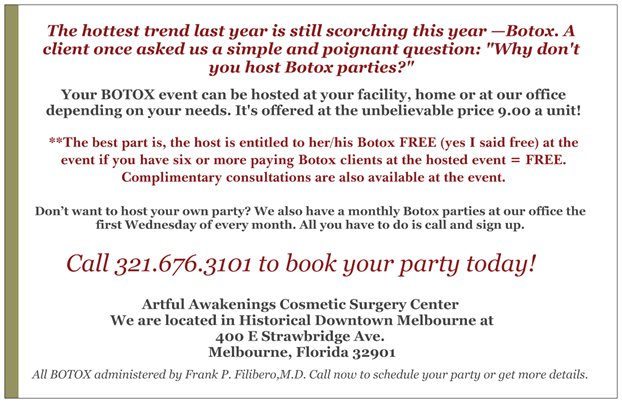 Botox and Bubbly
