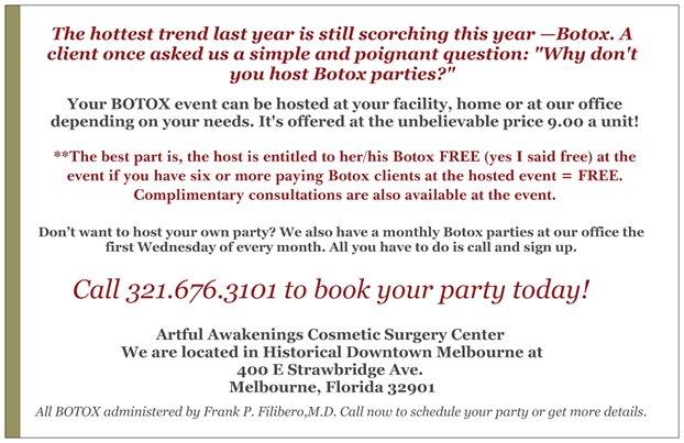 Botox and Bubbly
